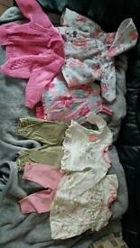 0-3 months girls bundle.