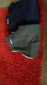 Ellesse hoodies one grey and one navy blue