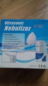 Brand New Ultrasonic Nebulizer ..Boxed ...