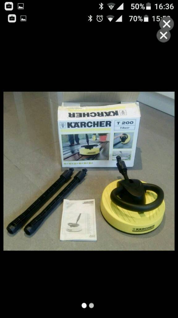 Karcher T 200 patio cleaner