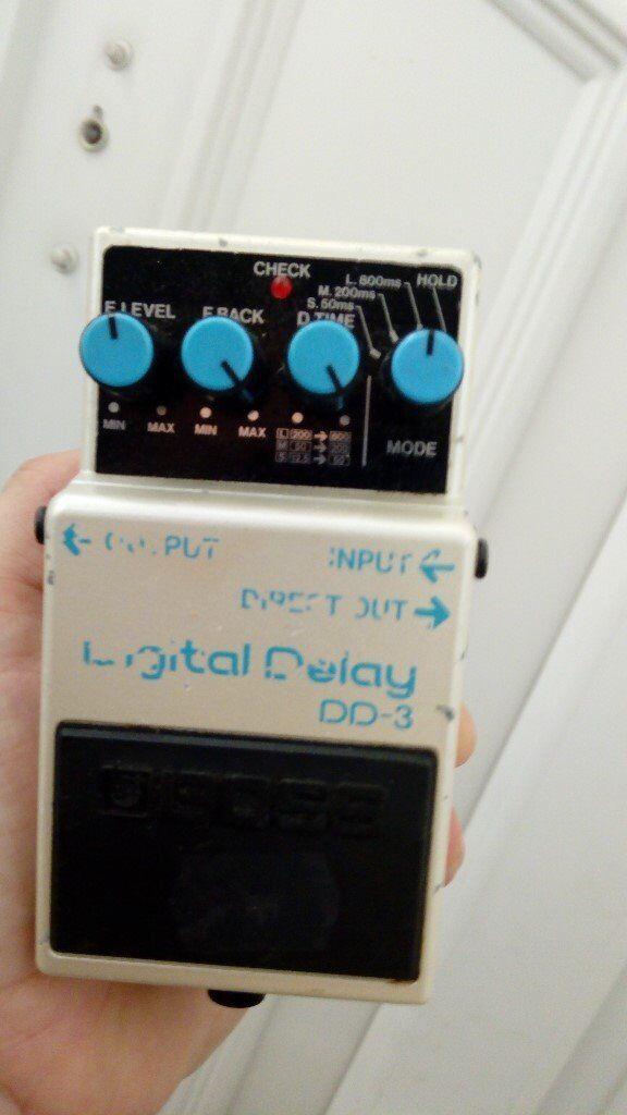 boss dd3 pedal