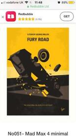 Mad Max: Fury Road film artwork