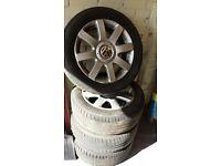 Vw Golf mk5 16'' alloy wheels