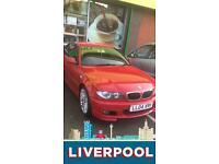 BMW 318CI M SPORT LPG AUTO FSH IMOLA RED