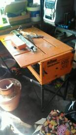 Triton MK3 Workcentre with Black & Decker circular saw
