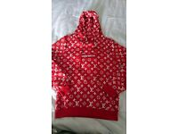 Supreme x Louis Vuitton LV hoody hoodie Small