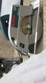 Bosch electric circular saw