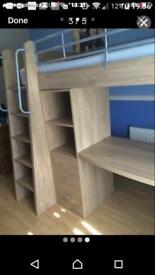 Kids bed high cabin bed