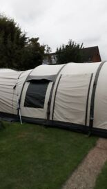 6man Outwell pump up tent this is a massive tent and in need of some tlc