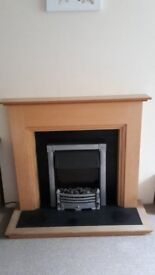 Electric Fire and Surround including Hearth