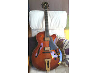 IBANEZ SJ500 ARCHTOP. VERY RARE MODEL MADE FOR JAPANESE MARKET. REDUCED PRICE BY 25% !!