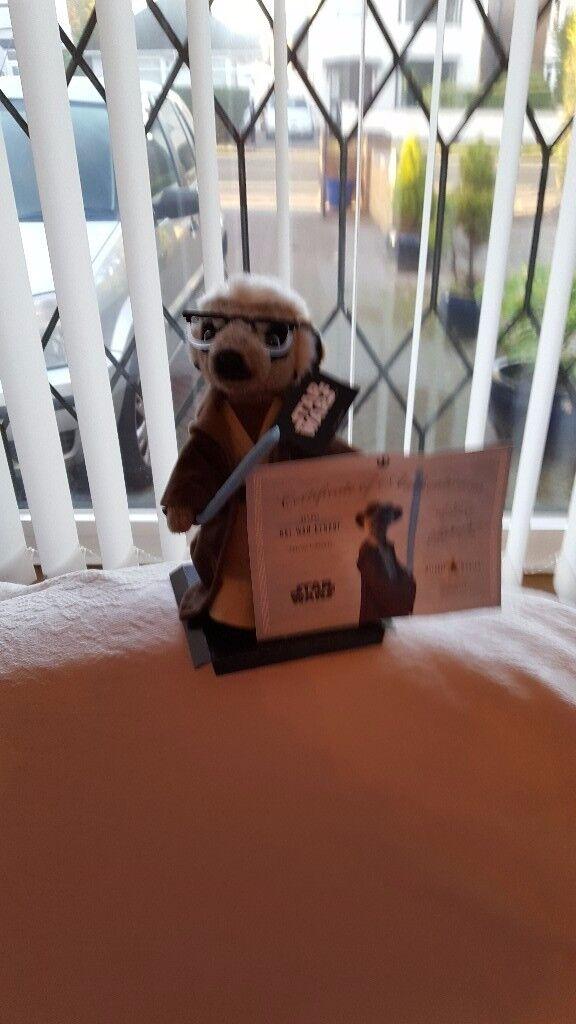 Star Wars Obi Wan Kenobi Meerkat Figure