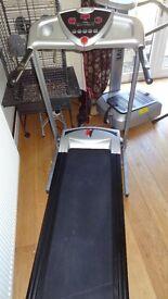 dynamix treadmill running machine high powered 0-16kph