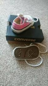 Baby first converse shoes