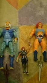 Bundle of thundercat figures