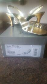 Ladies sparkly sandals size 7