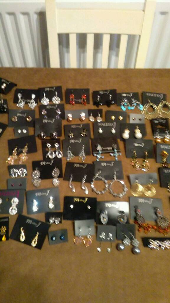 Job lot of new earrings