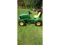 John Deere Childs tractor