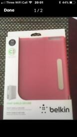 Brand new iPad case in pink
