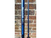 12ft beach caster fishing rod (used once)