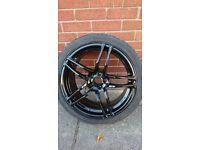 18 alloy wheels recently refurbished