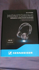 sennheiser headphones hd 25