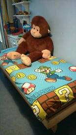 Single Bed with matress - very good condition