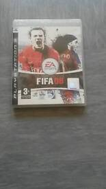 PS3 fifa 08 game