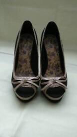 Next peep toe shoes. Size 5