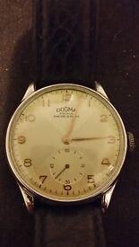 selling beautiful art deco style dogma watch 1950´s