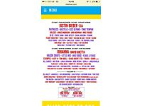 Weekend v fest red camping tickets x2