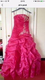 Unique Sachs James Prom Dress