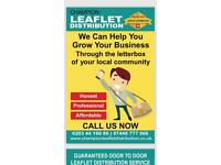 LEAFLET DISTRIBUTION SERVICE