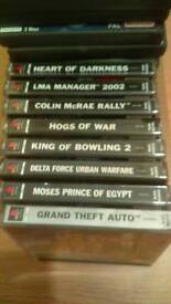 PS1 Games Various Priced From £3