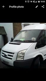 Transit 350t with tools and business for sale