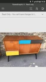 Vintage Sideboard Storage Cabinet