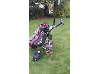 ELECTRIC GOLF TROLLEY & ACCESSORIES