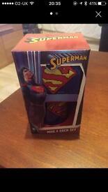 SUPERMAN GIFT MUG AND SOCKS