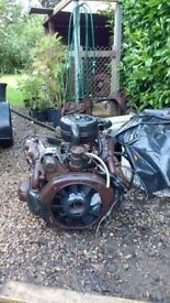 Citroen 2cv engine and gearbox