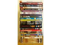 DVDs Various £1 each