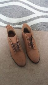 Brand New Real Leather Topshop Boots (size 5)