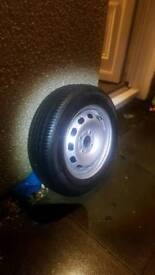 Ford fiesta spare tyre