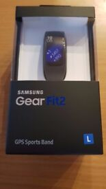 Brand new sealed Samsung Gear Fit2 GPS Sports Band