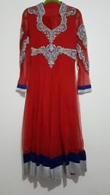 Preloved Asian dresses Anarkali Salwar Kameez Party wear