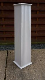 Wooden Classical style column/stand