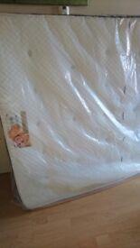 King size memory foam /orthopaedic sprung mattresses