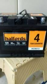 New car battery