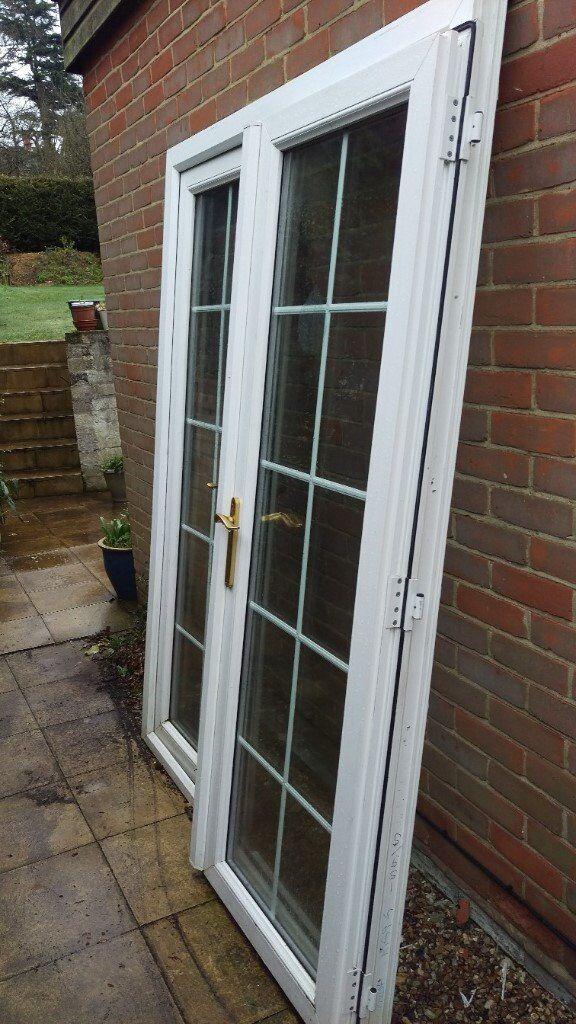 White upvc french doors in ipswich suffolk gumtree for White upvc french doors exterior