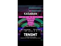 X2 TRNSMT TICKETS - SATURDAY 8th JULY - selling for face value but willing to take any offers