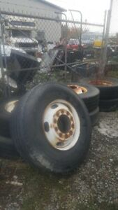 """8 22.5"""" rims for fit 315 tires."""